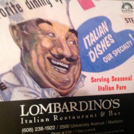 Lombardino's Restaurant: Godfather ghost