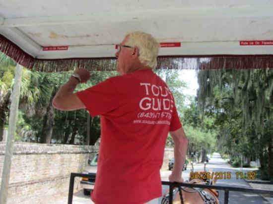 Sea Island Carriage Company: Our tour guide, Bill