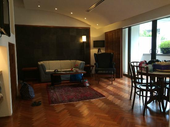 Parklane Split Level Studio Living Area Picture Of Goodwood Park