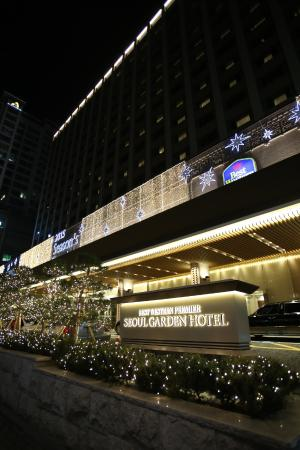 Best Western Premier Seoul Garden Hotel: EXTERIOR