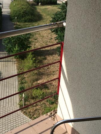 Velichovky, Tjeckien: výkaly od ptáků máte přímo na balkóně