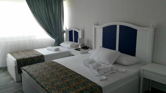 Mavi Beyaz Boutique Hotel & Beach Club: oda
