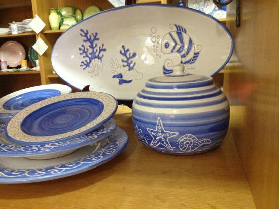 Piatti picture of terra sarda ceramiche artistiche siniscola