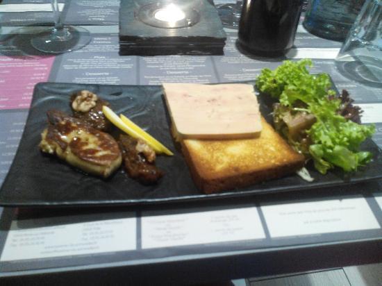 La Taverne du Sommelier: Duo de foie gras