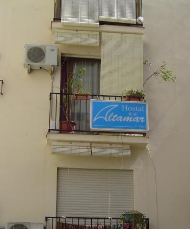 Hostal Altamar: Снаружи