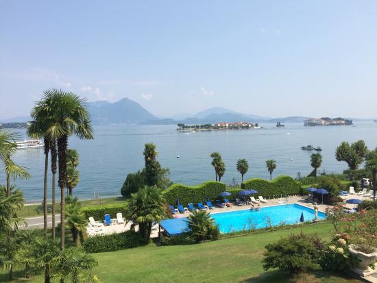 Lido Palace Hotel: Vue sur le lac !