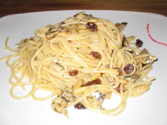 Soleluna: spaghetti a richiesta fuori menu... deliziosi