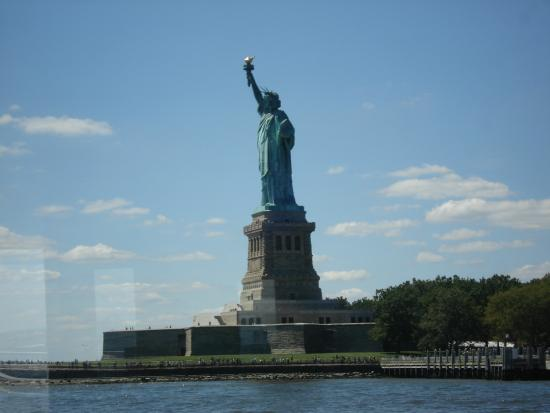 Manhattan Skyline: Statue of Liberty from the Cruise Boat