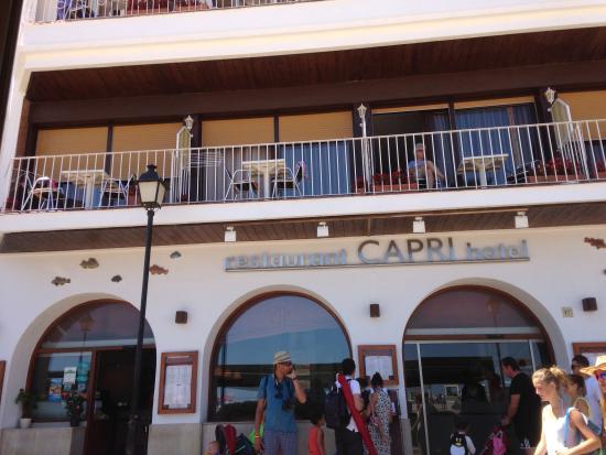 Restaurant Capri: Fachada