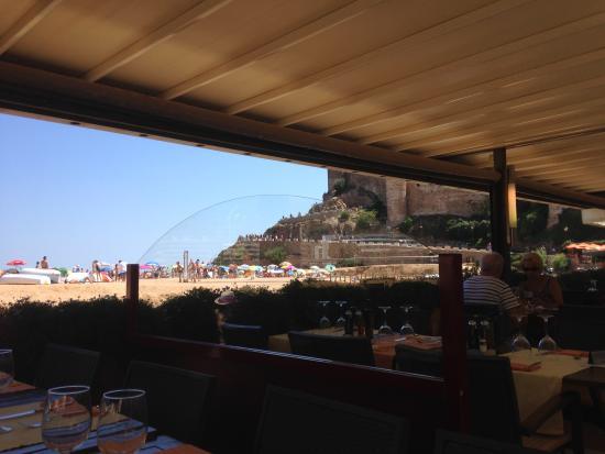 Restaurant Capri: Vista desde la terraza