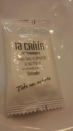La Cania Restaurante: Datos Cañía