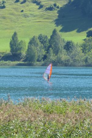 Seehotel Enzian: Blick zum See