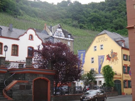 Hotel Zur Post : Вид на отель.