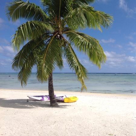 Aitutaki Seaside Lodges: paradise