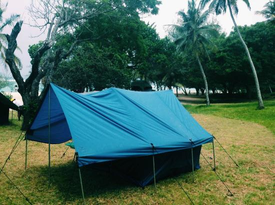 Twiga Lodge: the camping area