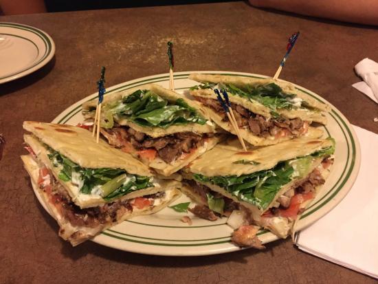 Photo of Mediterranean Restaurant Messini Authentic Gyros at 445 Danforth Ave., Toronto, Canada