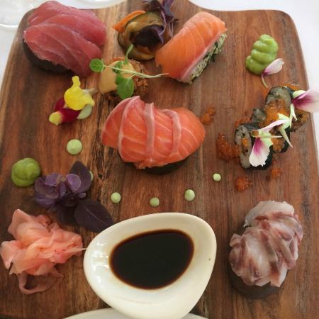 Shuck: sashimi platter