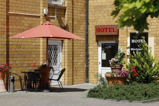 Hotel Märkischer Hof: Hofeingang