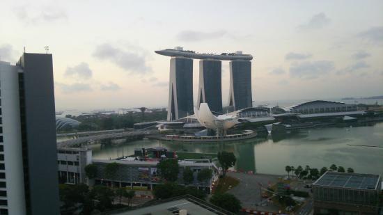 Marina Mandarin Singapore: お部屋から