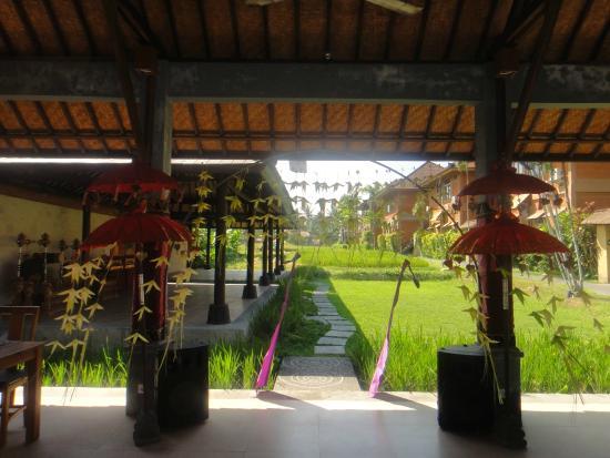 Saren Indah Restaurant: View from the restaurant