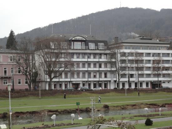 Wyndham Garden Bad Kissingen: ホテルの前はザール川が流れ、白鳥や鴨が遊んでいるという抜群の環境