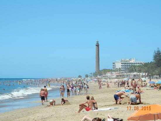 playa de maspalomas beach
