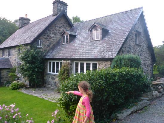 Llandderfel, UK: Picture of front of Afon Wen.