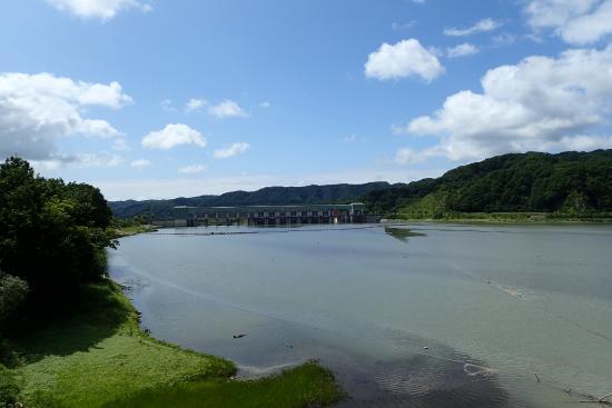 Nibutani Ainu Museum: 二風谷ダム