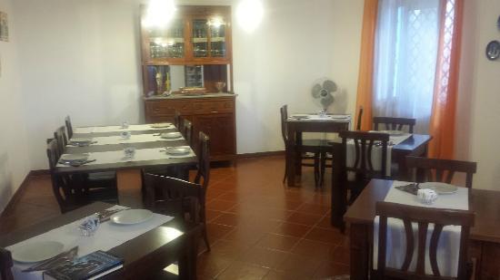 Casa Galez: sala colazioni