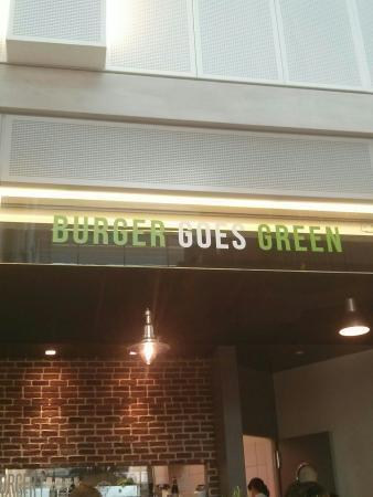 Burger Goes Green