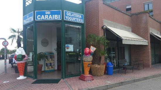 La piazzetta dei Caraibi