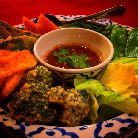 Dusit Thai: Nam Prik - utterly addictive.