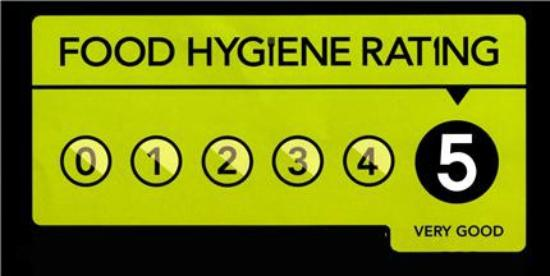 West Yorkshire, UK: Our Food Hygiene Rating