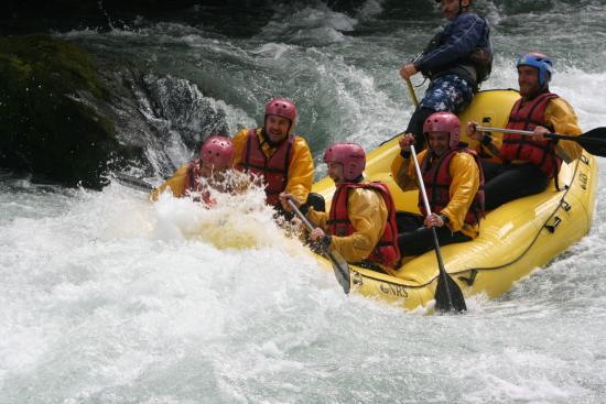 Chili Rafting: quant'acqua