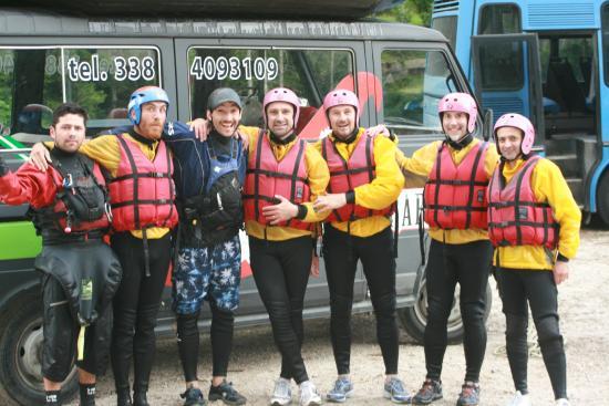 Chili Rafting: stanchi ma felici