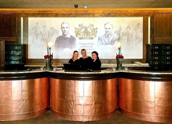 The Shankly Hotel: Our fantastic reception and front of house team