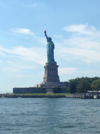 Manhattan Skyline: la Statua della Libertà