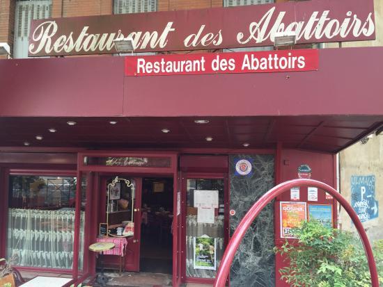 Restaurant des abattoirs Chez Carmen: L'extérieur