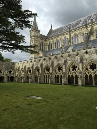 Salisbury Cathedral and Magna Carta: The cloisters