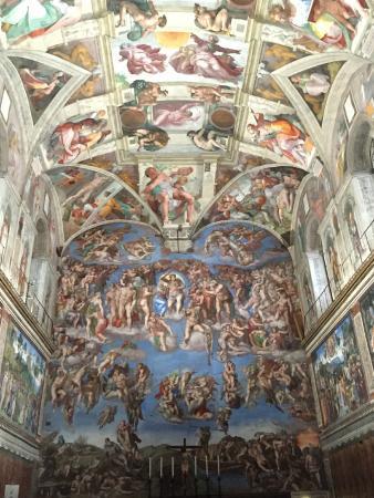 Sistine Chapel: Soffitto della Cappella