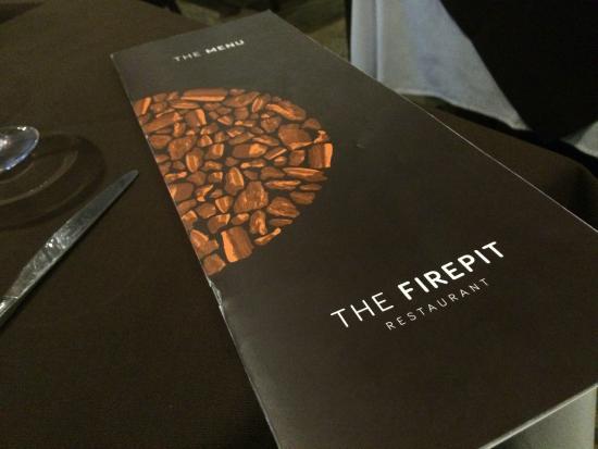 The Firepit: Menu - Menu - Picture Of The Firepit, Rawtenstall - TripAdvisor