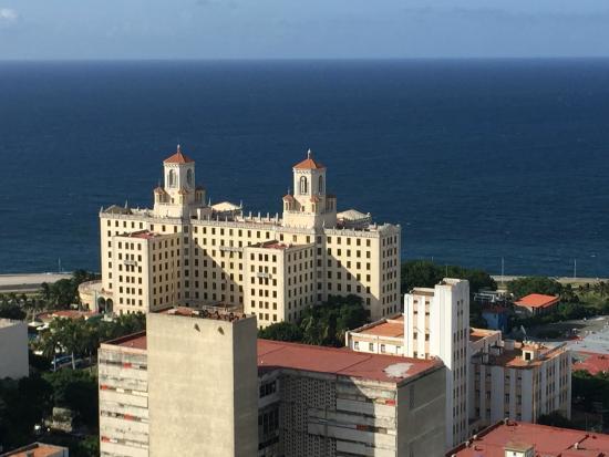 Tryp Habana Libre: La vista es increíble.