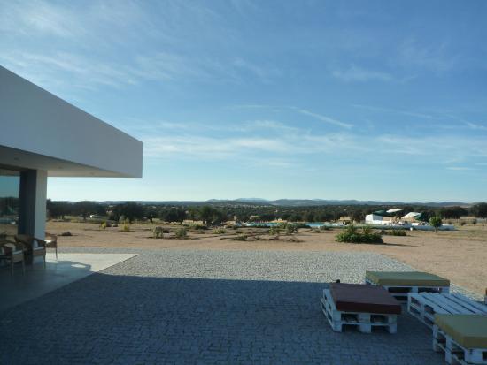 Monte Alto: Vista piscina