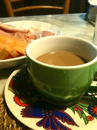 Casadichianti: A good breakfast at Isabella's !