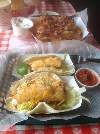 Vinalhaven, ME: Fish Tacos