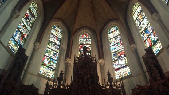 Cuijk, The Netherlands: Stained glass (original)