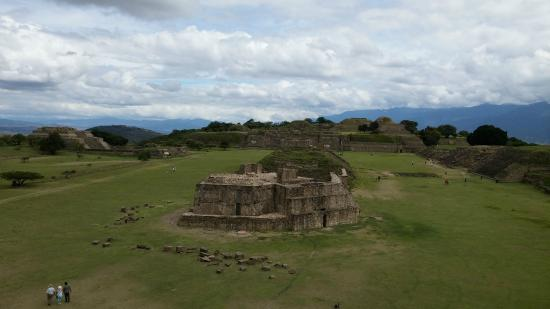 Monte Alban: Vista general Monte Albán