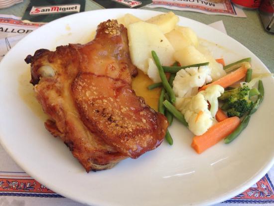 Cafeteria Marfil: Lechona, riquísima!!!