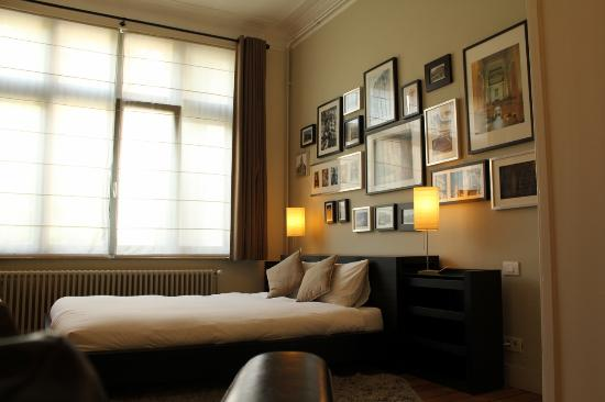 Bed and Breakfast Leopold II: Architect Room