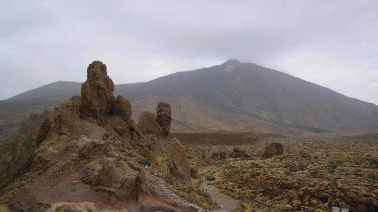 Volcan El Teide: The Teide crater